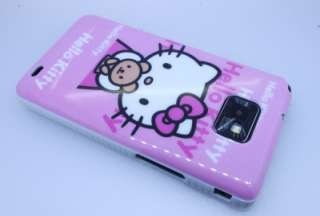 Hello Kitty Pink Hard Back Cover/Case for Samsung Galaxy S2 II i9100