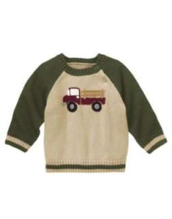 GYMBOREE Antique Truck Corduroy Pants OR Sweater Holiday/Winter NWT
