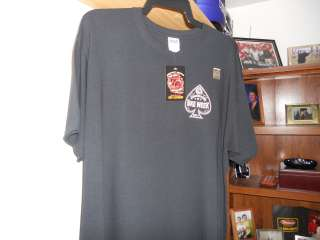 2011 Daytona Bike Week 70th Anniversary SPADE T Shirt Black   X