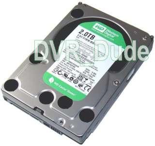 TiVo Premiere TCD746320 Hard Drive Upgrade Kit Plug & Play 2TB WD