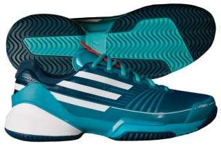 Adidas Adizero Feather Mens Tennis Shoe Green/White