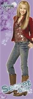 TV POSTER ~ HANNAH MONTANA (Miley Cyrus) SECRET DOOR