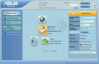 Asus RT N16 DD WRT Linux Firmware Support, 300 Mbits: .de
