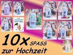 Hochzeitsgeschenk Set S Geldgeschenk Hochzeit *lustig*