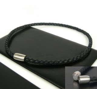 MultiColor Men/Women Woven Leather Necklace Braided Genuine Leather