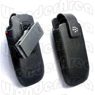 Leather Case Swivel Holster for BlackBerry Bold 9700 9780