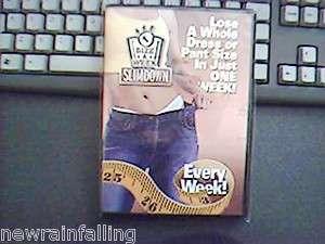 Sealed. Slim Down Size a Week (Michael Thurmond Program) DVD