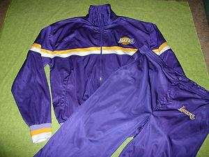 VTG Los Angeles Lakers NBA Jacket Pants Suit STARTER
