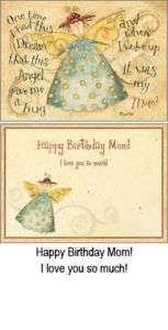 Angel Mom Birthday Greeting Card Legacy Dan DiPaolo