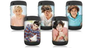 Direction 1D British Boy Band Battery Cover for BlackBerry 8520 9300
