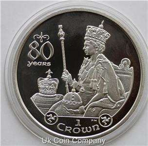 2006 ISLE OF MAN SILVER PROOF 50 PENCE CROWN COIN