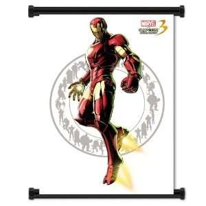 Marvel vs. Capcom 3 Fate of 2 Worlds Game Iron Man Fabric