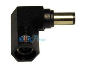 Angle Connector Converter for Dell & HP Laptop Power Adapter  LC90B