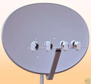 MAXIMUM E 85/T 85 Multifocus Antenne inkl. 4xTwin LNB