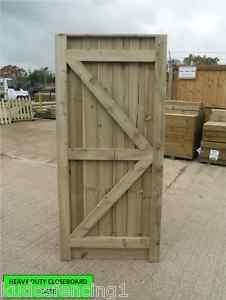 Garden Side Gate Closedboard 6 x 26 Wooden Gate