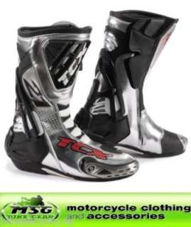 TCX COMPETIZIONE RS BAYLISS REPLICA MOTORCYCLE RACE BOOTS 46   LAST