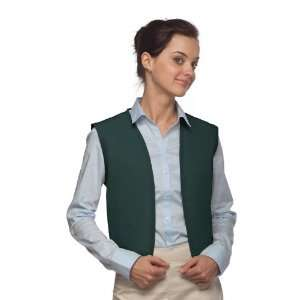 DayStar 740NP No Pocket Uniform Vest Apron   Hunter
