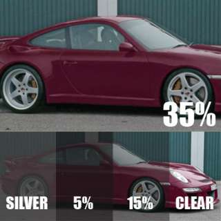 LIGHT SMOKE 35% CAR WINDOW TINT 6M x 75CM FILM TINTING