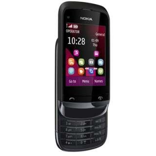 Nokia C2 02 Black Mobile Phone New Sim Free Unlocked UK 6438158379671