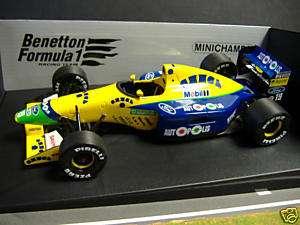 F1 BENETTON Ford B191 M Schumacher 1991 Minichamps 118