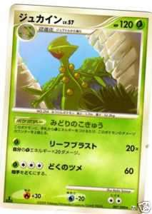 carte pokemon JUNGKO 120 hp NEUVE