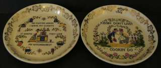 ELIJAH COTTON LORD NELSON WARE HUMOROUS PLATES ENGLND