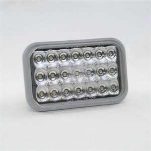 KC HiLites #1012 LED Lamp Light   5 Rectangular Backup Light Clear