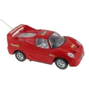 Control Run Forward Turn Backward Racing King Car Toy Red Toys