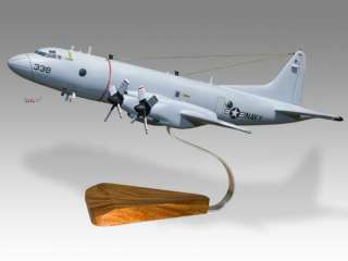 Lockheed P 3 Orion US Navy Wood Desktop Model Airplane