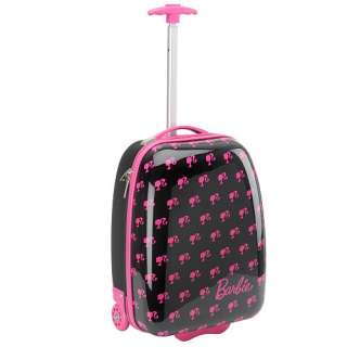 Barbie Hard Shell Rolling Luggage Case   Accessory Innovations