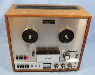 Teac Model A 1500U Stereo Reel To Reel Tape Deck