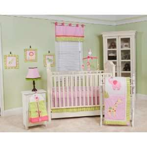 Jungle Jane 10 Piece Crib Bedding Set Pink: Baby