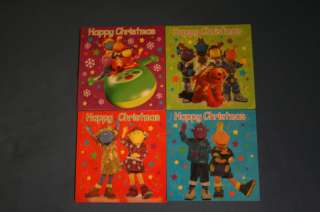 Pack of 10 Tweenies Christmas Cards 4 Designs