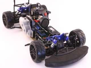Con Motore A Scoppio Blue Rally Car RadioKontrol cod 3000 01