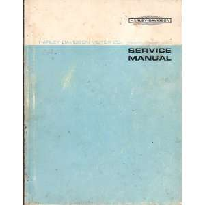 Harley Davidson Service Manual 1959 To 1969 Electra Glide