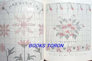 Flowers & Fruits Cross Stitch Samplers/Japanese Embroidery Pattern