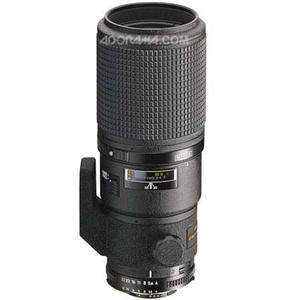 Nikon 200mm f/4 D ED IF AF Micro Nikkor Lens with Case   Gray Market