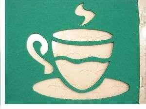 POCHOIR 3D 12 x 17 cm la tasse à café