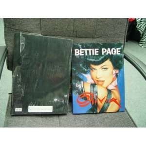 Book of Bettie Page with Book Sleeve SIGNED Autographed by Bettie Page