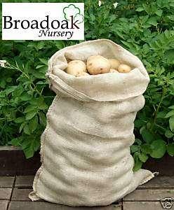 Jute Hessian Potato Storage Sacks (25kg Potato Sack)