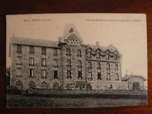 cpa 42 mont pilat grand hotel et sanatorium
