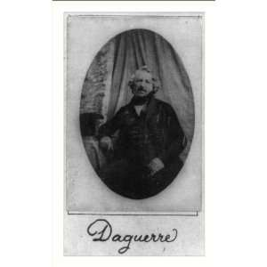 Historic Print (M) Louis Jacques Mandé Daguerre  Home