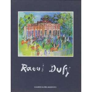 RAOUL DUFY Unknown Books