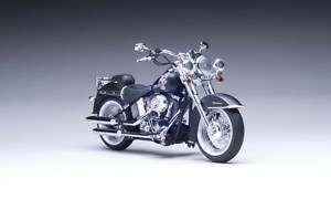 2010 Harley Davidson FLSTN Softail Deluxe Black Denim