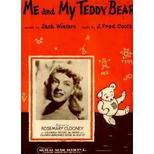 Vintage 1950 Sheet Music recorded by Rosemary Clooney (Georges Aunt