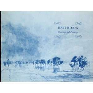 David Cox Drawings and Paintings David Cox Books