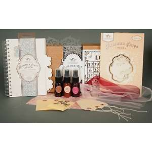 Tattered Angels Timeless Romance Glimmer Album Kit