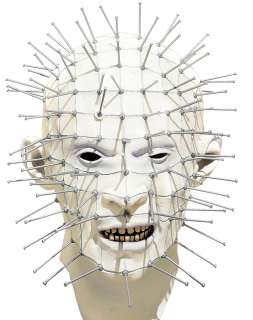 Clive Barker Hellraiser Pinhead Mask is 75% Latex with a blend of