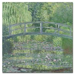 Water Lily Pond (1899) by Claude Monet Canvas Art Print