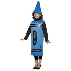 Blue Crayola Child Costume, 69738